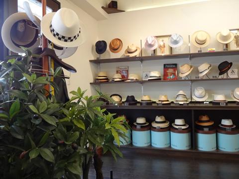 文二郎帽子店 店舗